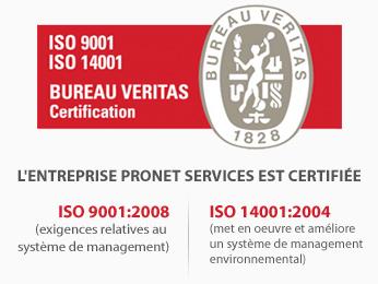 ProNet Services certifiée